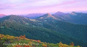 Craggy Mt. as seen from Mt. Elijah (Oregon Caves Revitalization Act) (Barbara Ullian photo).