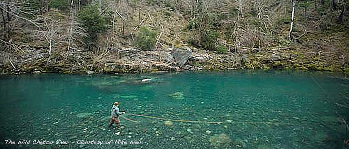 Fly Fishing on the Chetco River