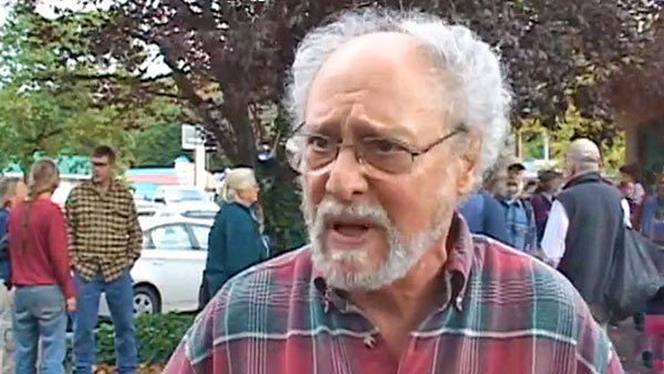 """Illinois Valley resident John Gardiner: """"Every clearcut is causing problems environmentally for the people who live around it."""""""