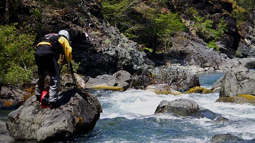 Documenting the beauty of the Wild and Scenic Chetco River (Zach Collier photo, NW Rafting Co.)