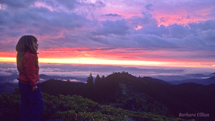 The 4,000 acre expansion of the tiny Oregon Caves National Monument will provide greater recreation opportunities. The view from Mt. Elijah across the Illinois Valley to wild Kalmiopsis Country.